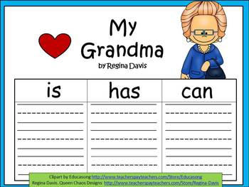 A+  Grandma, Grandmother, or Insert A Special Name... Thre