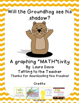 """A Groundhog Day """"MATH""""tivity Freebie!"""