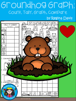 A+ Groundhog Graph: Count, Tally, Graph, and Compare