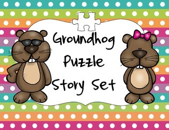A Groundhog Puzzle Set