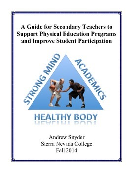 A Guide for Secondary Teachers to Support Physical Educati