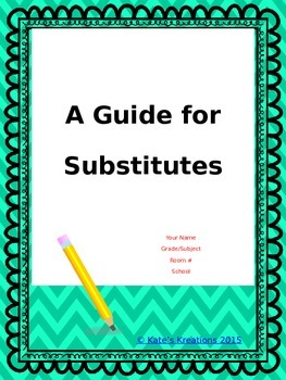 A Guide for Substitutes