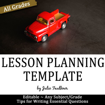 How to Write Essential Questions +CC Planning Checklist &