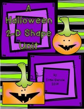 A Halloween 2-D Shape Unit