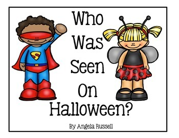 Halloween Book ~ Who Was Seen On Halloween?