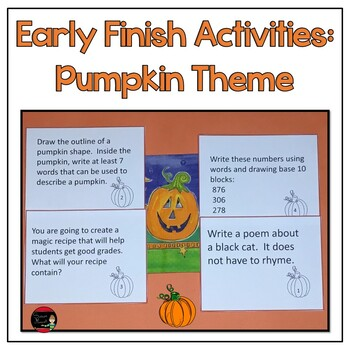 Early Finish  Enrichment Challenges For Grades 1-3