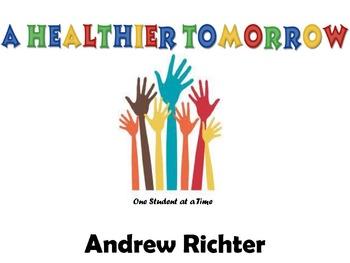 A Healthier Tomorrow - Part 1