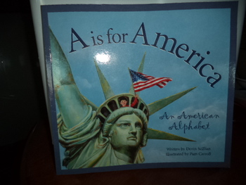 A Is For AMERICA   ISBN  13:978-158536-425-1