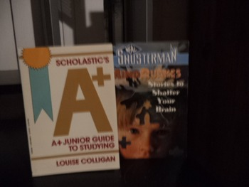 A+ JUNIOR GUIDE TO STUDYING   MIND QUAKES    (set of 2)