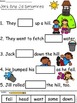 A+ Jack And Jill Sentences: Fill In The Blank