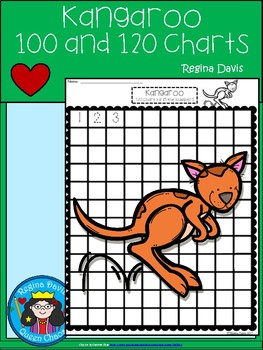 A+ Kangaroo: Numbers 100 and 120 Chart