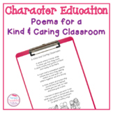A Kind and Caring Classroom: Poems of the Week That Promot
