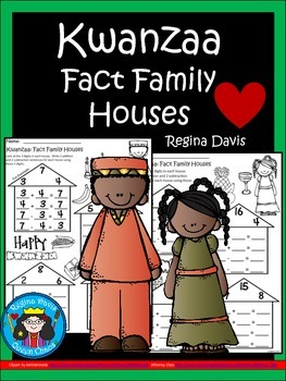 A+ Kwanzaa: Fact Family Houses