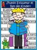 A+ Labeling Poster: I Can Label The Kindergarten King (SPA