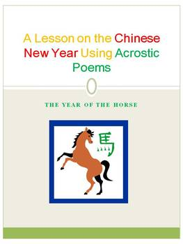A Lesson On The Chinese New Year Using Acrsotic Poems