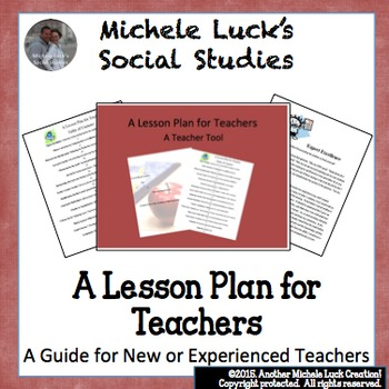 A Lesson Plan for Teachers, New or Old (Experienced, that