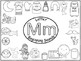 A+ Letter Mm Beginning Sounds Word Wall