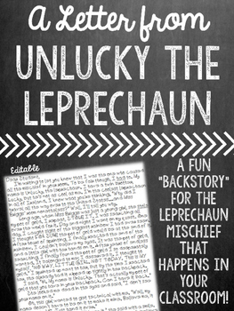 A Letter from Unlucky the Leprechaun