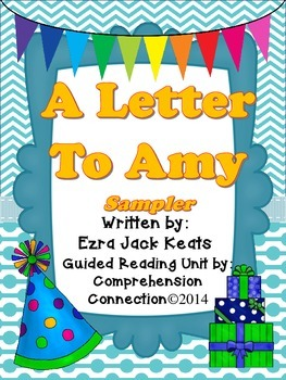 A Letter to Amy Guided Reading Sampler