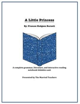 A Little Princess Complete Literature, Grammar, & Interact