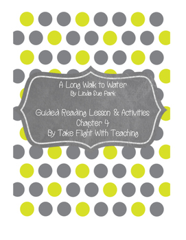 A Long Walk to Water Guided Reading Lesson and Activities: