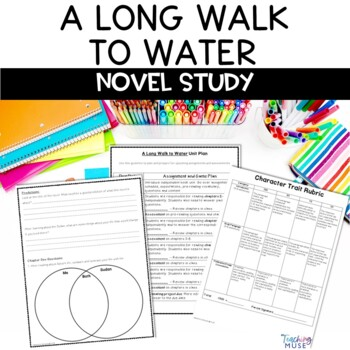 #2fortuesday A Long Walk to Water Novel Unit
