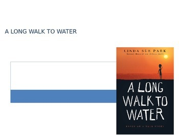 A Long Walk to Water by Linda Sue Park: Structured Literat