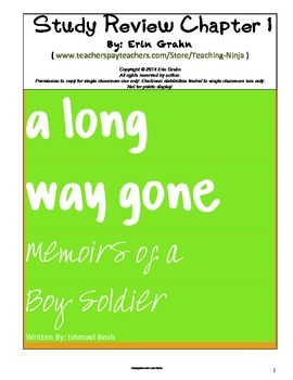 A Long Way Gone Study Review Chapter 1