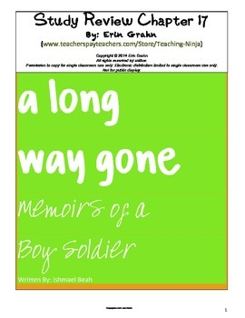 A Long Way Gone Study Review Chapter 17