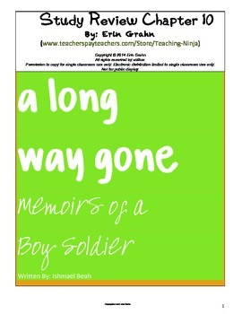 A Long Way Gone Study Review Chapters 13 and 14