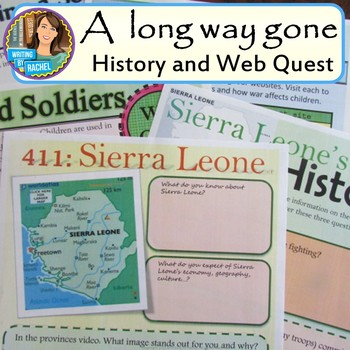 A Long Way Gone--historical context