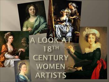 A Look At 18th Century Women Artists