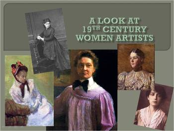 A Look at 19th Century Women Artists