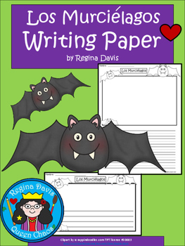 A+ Los Murciélagos (The Bats) Spanish Differentiated Writi