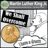 A MLK-Martin Luther King Jr Clip Art Freebie {Messare Clip