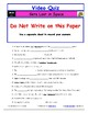 """A Magic School Bus ** """"Gets Lost in Space"""" Worksheet, Answ"""