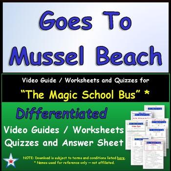 "A Magic School Bus ** ""Goes to Mussel Beach"" Worksheet, An"