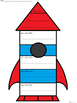 A+ Main Idea with Supporting Details: Rocket Ship Graphic