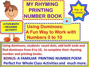 Math and Literacy Activities for Kindergarten and Grade One