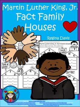 A+ Martin Luther King, Jr.  Fact Family Houses