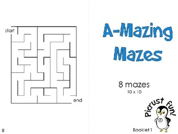A-Mazing Mazes: Booklet 1