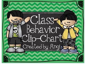 A Melonheadz Behavior Clip Chart
