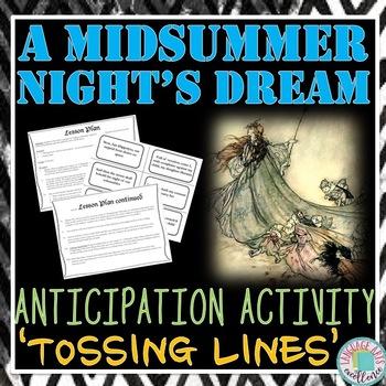 A Midsummer Night's Dream Anticipation Activity