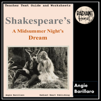 A Midsummer Night's Dream Teacher Text Guide & Worksheets