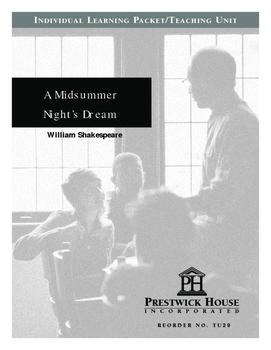 A Midsummer Night's Dream Teaching Unit