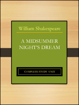 A Midsummer Night's Dream by William Shakespeare: Complete