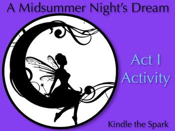 A Midsummer Night's Dream Act 1 Activity