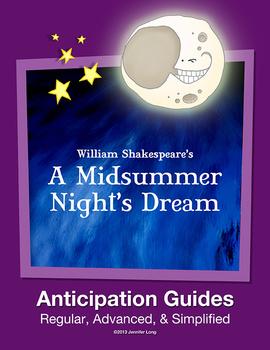 A Midsummer Night's Dream Anticipation Guides