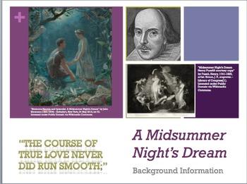 A Midsummer Night's Dream Background PowerPoint