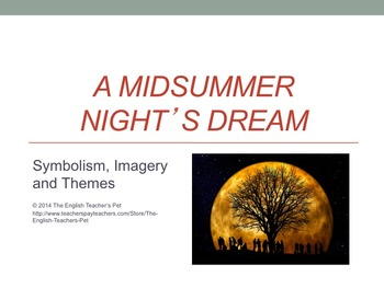 A Midsummer Night's Dream Play Unit